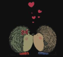 Hedgehogs in love Kids Tee
