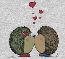 Hedgehogs in love Kids Tee