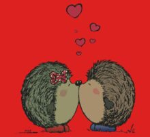 Hedgehogs in love One Piece - Short Sleeve
