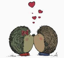 Hedgehogs in love Kids Clothes
