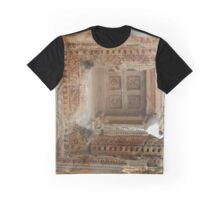 Ancient Library Ceiling Ephesus Turkey Graphic T-Shirt