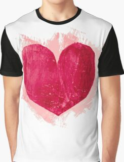 Red heart Graphic T-Shirt
