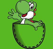 Pocket Yoshi by Lauramazing