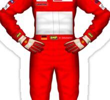Michael Schumacher 2000 Sticker