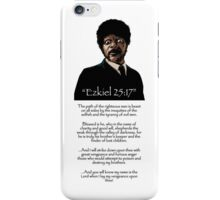 Samuel Jackson - Ezekiel Speech Pulp Fiction iPhone Case/Skin