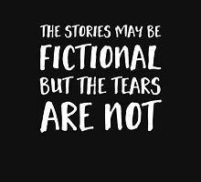 The Stories May Be Fictional (inverted) Unisex T-Shirt