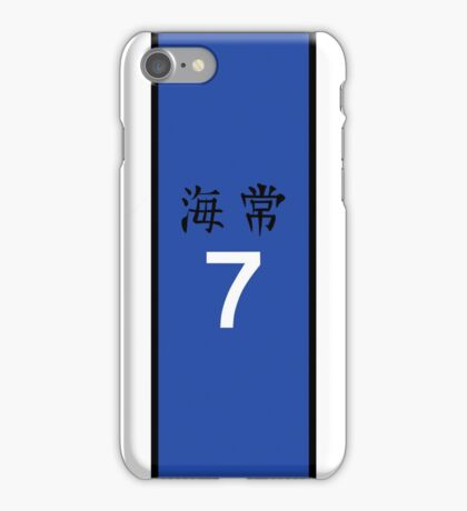 Kise's Jersey iPhone Case/Skin