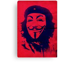 Che Anonymous Canvas Print