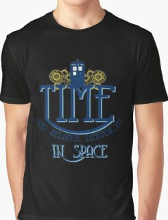 TARDIS - TIME AND RELATIVE DIMENSIONS Graphic T-Shirt
