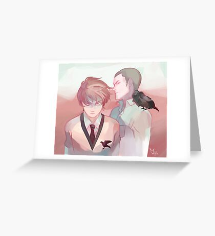 horror movie boyfriends Greeting Card