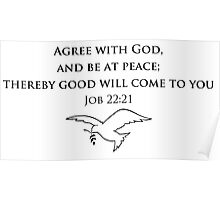 Agree with God Poster