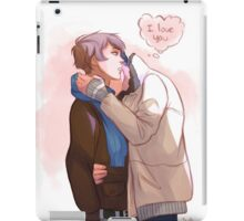 holding you like this iPad Case/Skin