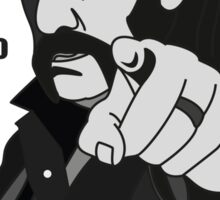 Lemmy Kilmister Born to lose, live to win Sticker