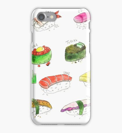 Sushi & Sashimi Dreams iPhone Case/Skin
