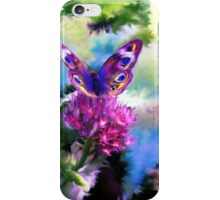 Bright Colorful Butterfly Art iPhone Case/Skin