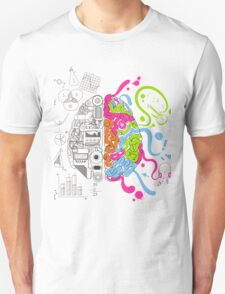 Brain Creativity Unisex T-Shirt