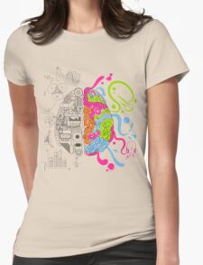 Brain Creativity Womens Fitted T-Shirt