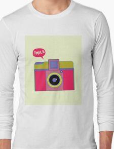 smile camera Long Sleeve T-Shirt