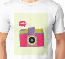 smile camera Unisex T-Shirt