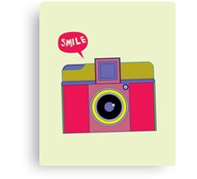 smile camera Canvas Print
