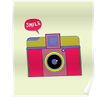 smile camera Poster