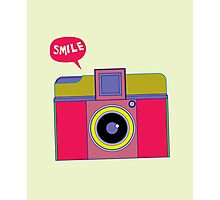 smile camera Photographic Print
