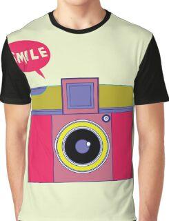 smile camera Graphic T-Shirt