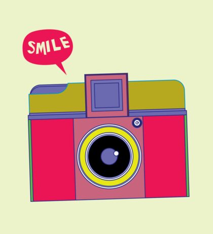 smile camera Sticker
