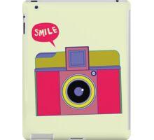 smile camera iPad Case/Skin
