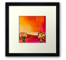 Who Shot First? Framed Print