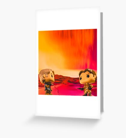 Who Shot First? Greeting Card