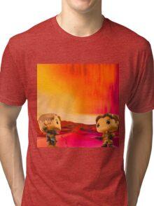 Who Shot First? Tri-blend T-Shirt
