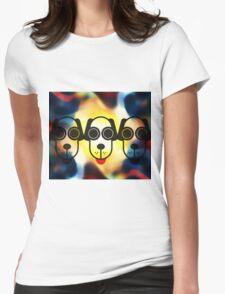 MOODI 3 dog, by m a longbottom - PLATFORM58 Womens Fitted T-Shirt