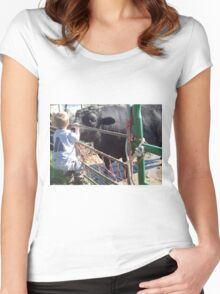 Weather Report Women's Fitted Scoop T-Shirt