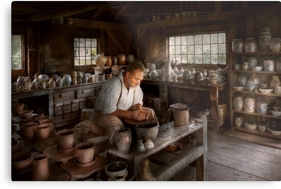 Potter - Raised in the clay by Mike  Savad
