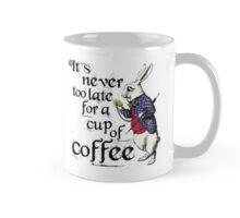 Vintage Alice in The Wonderland Rabbit  Mug