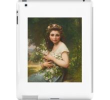 Jules-Cyrille Cavé  FRENCH PLASIRS DES CHAMPS iPad Case/Skin