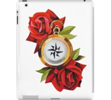 Rose & Compass Traditional iPad Case/Skin