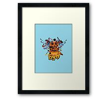 music and sport is good Framed Print