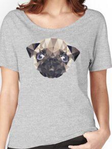 Pug Diamonds Women's Relaxed Fit T-Shirt