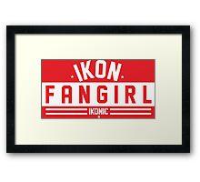 iKON FANGIRL Framed Print