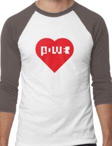 Power Of Love Men's Baseball ¾ T-Shirt