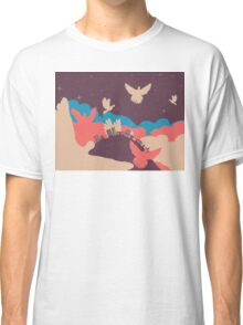 Pigeon in the Clouds 2 Classic T-Shirt