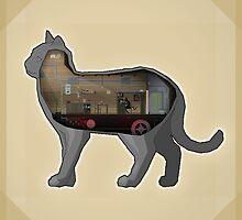 Cat by pixelfaces