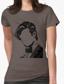 Doctor Matt The 11th - vacant expression Womens Fitted T-Shirt