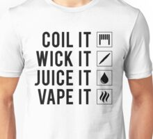 Vape It! Unisex T-Shirt