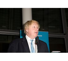 Boris Johnson, Mayor of London  Photographic Print