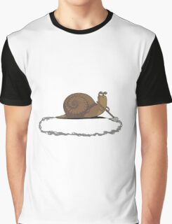 Clever Snail Graphic T-Shirt