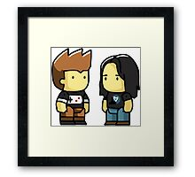 Couple Gamer Framed Print