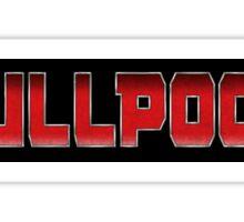 SKULLPOOPL Sticker